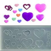 3D muotti - Sydämet
