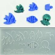 3D muotti - Merenelävät